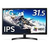 【Amazon.co.jp 限定】LG モニター ディスプレイ 32ML600M-B 31.5インチ/フルHD/HDR/IPSハーフグレア/HDMI×2、D-Sub