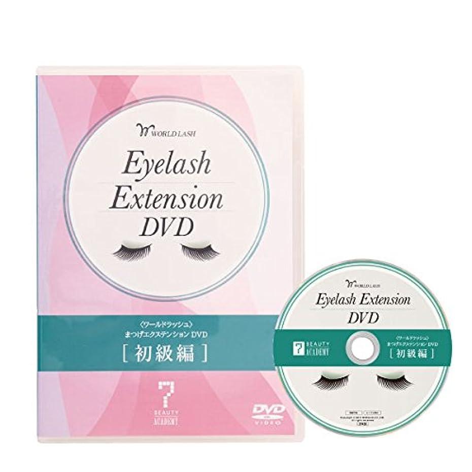数スチュワーデスギャップ< WORLD LASH > まつげエクステンション DVD (初級編) [ 教材 テキスト DVD まつげエクステ まつ毛エクステ まつエク マツエク サロン用 ]
