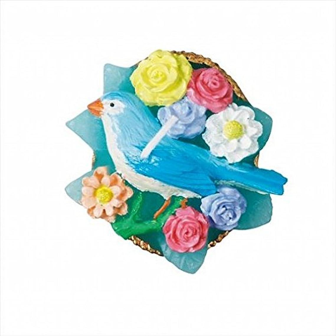 地元歯科の吸うkameyama candle(カメヤマキャンドル) アンティークジュエリー 「 ブルーバード 」 キャンドル 48x48x25mm (A4380040)