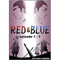 RED&BLUE 第一話〜第五話(英語版セット) RED&BLUE