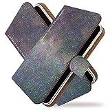 Galaxy S10 SC-03L ケース 手帳型 星空 星 3 夜空 スカイ 手帳 カバー ギャラクシー エス10 エスシー03エル 手帳型ケース 手帳型カバー 雲 流れ星 空 [星空 星 3/t0755]