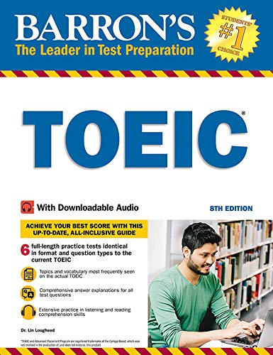 Barron's TOEIC: With Downloada...