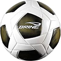 Brine Arrowheadサッカーボール、ゴールド、サイズ5 Franklin