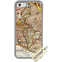 iPhone 5CケースVUTTOO 世界一周 iPhone 5C専用ケース(透明な) [並行輸入品]