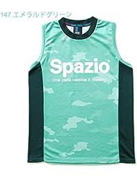 [スパッツィオ] メンズ レディース フットサル ノースリーブシャツ CAMUFFAMENTO NO SLEEVE S エメラルドグリーン GE-0363 O