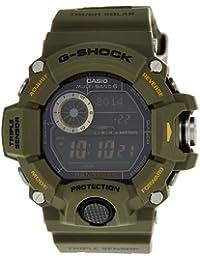CASIO(カシオ) G-SHOCK Gショック GW-9400-3DR RANGEMAN レンジマン 電波ソーラーデジタル海外モデル カーキ メンズ (逆輸入品)