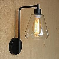 Ledウォールライト壁取り付け用燭台照明器具アップ装飾用壁照明クリエイティブベッドルームベッドサイドランプガラスパーソナライズドシングルリビングオフロードホテルのレストランの背景ウォールランプ