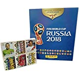 Panini Russia 2018 World Cup Official Licensed Product Complete Sticker Collection + Free Empty Hard Cover Album Internationa