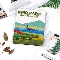 iPad 2/3/4 対応 2つ折りケース スタンド機能 オートスリープ超薄型 傷つけ防止ケース 手帳型カバー 環境にやさしい材質湖と山の恐竜と生きている水泳と土地の恐竜アライブテーマ装飾