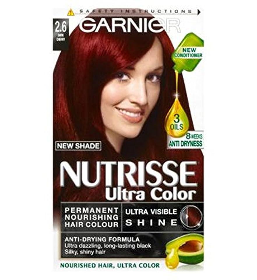 ブラスト抵抗する展開するGarnier Nutrisse Ultra Permanent Colour 2.6 Dark Cherry - ガルニエNutrisse超永久色2.6ダークチェリー (Garnier) [並行輸入品]