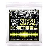 ERNIE BALL 2921 M-Steel Regular Slinky エレキギター弦×6セット