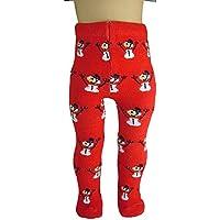 レッド雪だるまタイツforアメリカンガール人形によって人形Clothes Sew美しい
