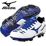 MIZUNO(ミズノ) サッカーシューズ スパイク メンズ イグニタス 2 JR MD ホワイト/ブルー 21