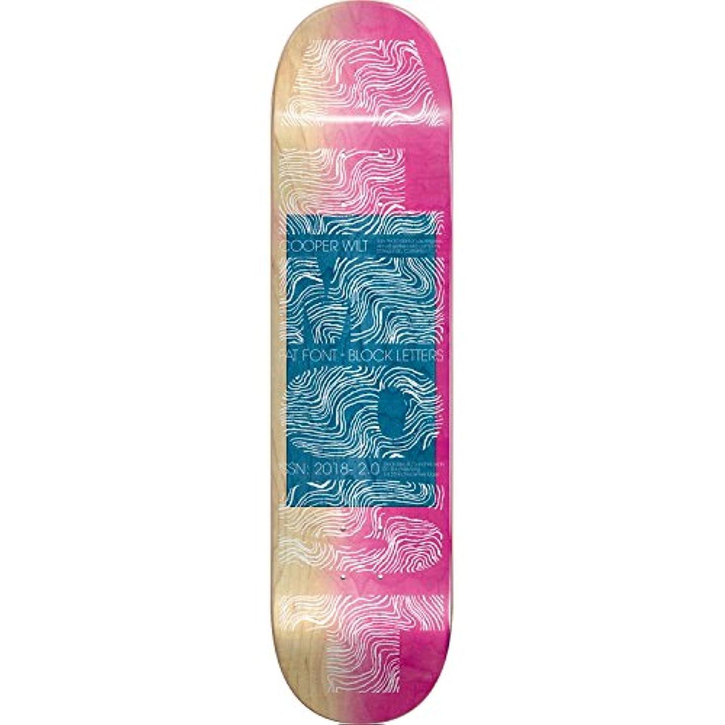 楽しい放散する悪因子Almost Wilt Fatフォントデッキ- 8.25 r7 – Assembled as complete skateboard
