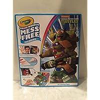 Crayola Colour Wonder 18 Page Colouring Pad Teenage Mutant Ninja Turtles