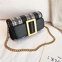 CMNB バッグ 上の新しいバッグの女性新金の潮の韓国版のチェーンの小さい方の包みの肩のの超火の赤いショルダーバッグ,黒