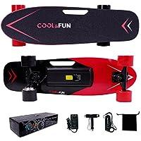 Cool&Fun HB9 電動スケートボード スケボー キックボード リモコン付き LG電池 最大時速15km/h 全て4色