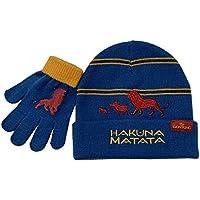 Disney Lion King Winter Hat and Glove Set, Boys Ages 4-12 Multicolor