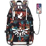 Tauras The Legend of Zelda Backpack Student Daypack Laptop Bag College Bag Fashionable 3D DIY Lightweight Large Space Anti-Dirt Schoolbag Should Bag Message Bag-23