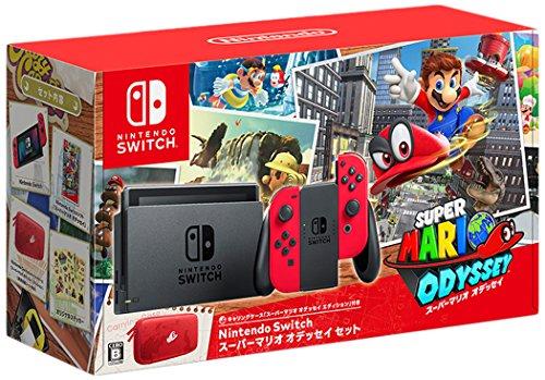 Nintendo Switch スーパーマリオ オデッセイセット 【Amazon.co.jp限定】オリジナルラゲッジタグ 付