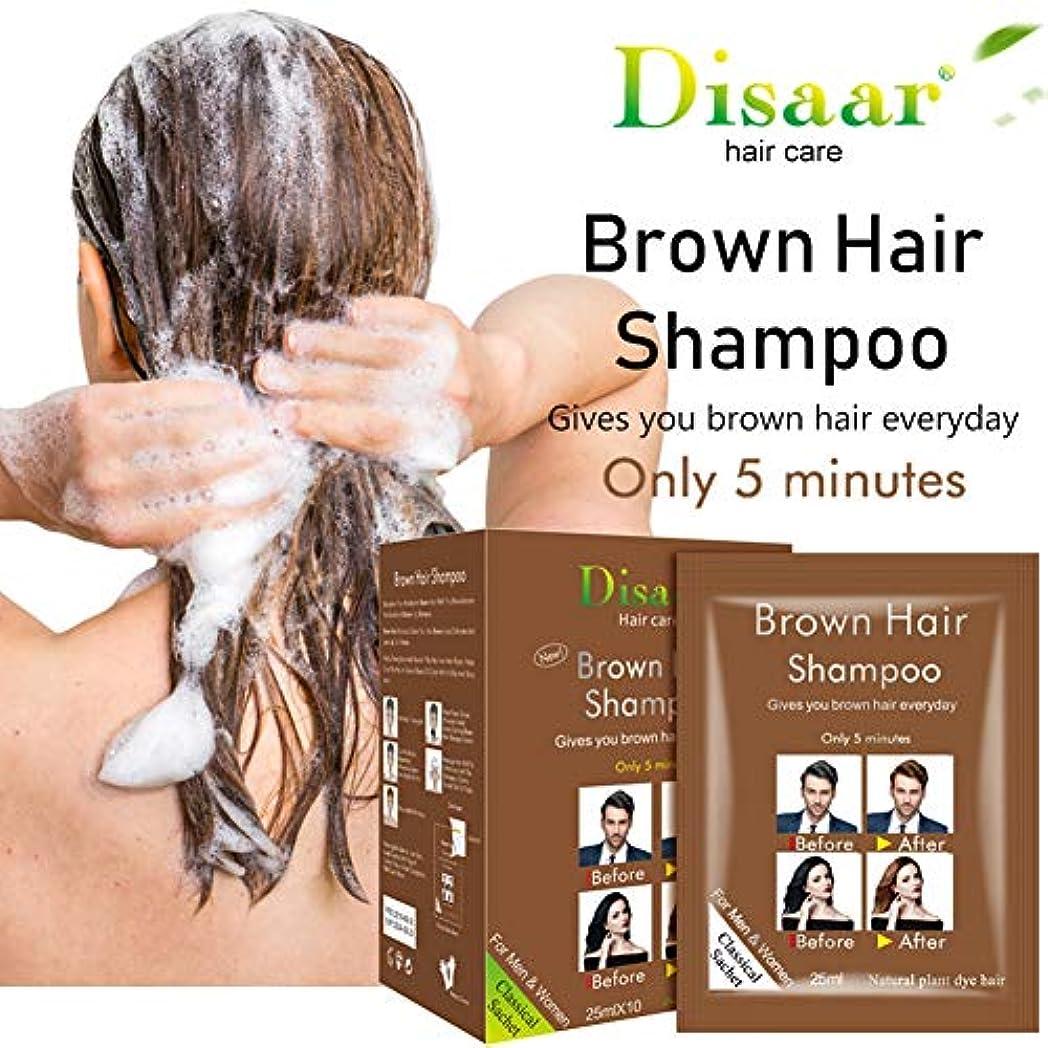 叫ぶ定期的な緊張するブラウンヘアシャンプー-ビタミンを使用した自然な髪の再生-脱毛と薄毛製品-カーリーまたはカラートリートメントヘア-刺激のない簡単な高速