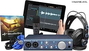 PreSonus プリソーナス DTMセット AudioBox iTwo STUDIO [DAWソフトStudio One 3 Artist付属]