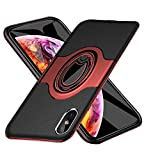iphone XSMax ケース耐衝撃 リング付き ケース シリコン TPU ケース 薄型 軽量 耐衝撃 指紋防止 擦り傷防止 全面保護 指紋防止 汚性に耐え る取り出し易 XSMax いケース HB-13-5-04