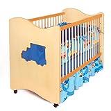 Room Magic 4 Piece Crib Set, Boys Like Trucks by Room Magic
