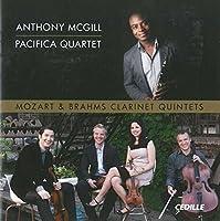 Mozart & Brahms: Clarinet Quintets by Pacifica Quartet (2014-05-27)