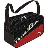 MIZUNO(ミズノ) 野球 Global Elite ミニショルダー 1FJD891796 ブラック×レッド