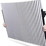 サンシェード 車 遮光 遮熱 自動伸縮 自動折畳 プライバシーを保護する 車 カーテン (リアガラス向け 46cm)