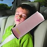 Valuetom 新版 シートベルトクッション 子供 カバー もっとふかふか キッズ シートベルトピロー(ピンク)