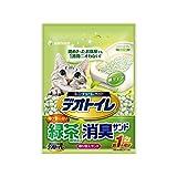 1週間消臭・抗菌デオトイレ 飛び散らない緑茶・消臭サンド 2L