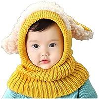 KLUMA ニット帽子 子供 ベビー キッズ 赤ちゃん うさぎちゃん風 かわいい 防寒 一体型 耳あて ふわふわ あったか 高品質 女の子 男の子 全5カラー