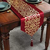 Caflife Table Runners 13 x 72 inch for Wedding Banquet Party Christmas Holiday Decoration,for Coffee Table Dresser and Dining