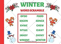 Winter Word Scramble: Large Print Puzzle Book for holiday season
