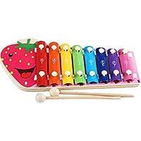 Linshop 幼児教育ノックピアノ音楽の木のおもちゃの木琴- 3歳