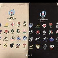 ラグビー ワールドカップ トートバッグ 白黒セット