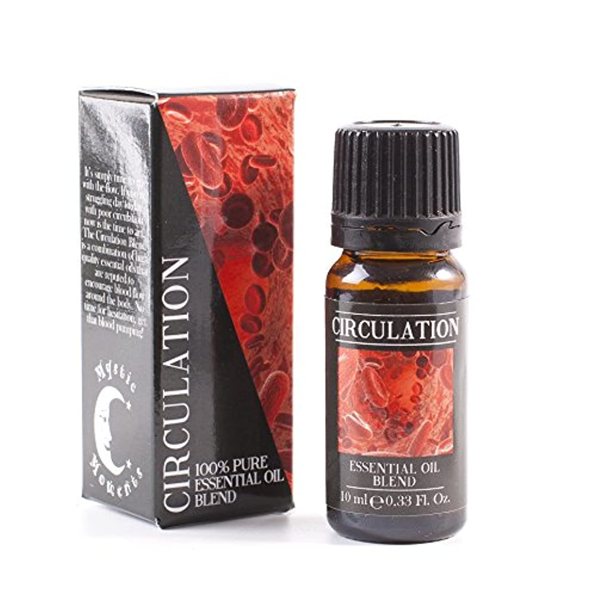 アナログビルマ火傷Mystic Moments | Circulation Essential Oil Blend - 10ml - 100% Pure