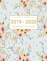 2019-2020 Academic Planner Weekly And Monthly: Lesson Planner Books for Teachers, Dated Calendar With To-Do List