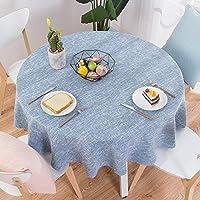 家計 北欧 牧歌的です 綿 テーブル クロス,ファブリック レストラン ラウンド テーブル,の コーヒー テーブル ダイニング テーブル-21 直径100cm