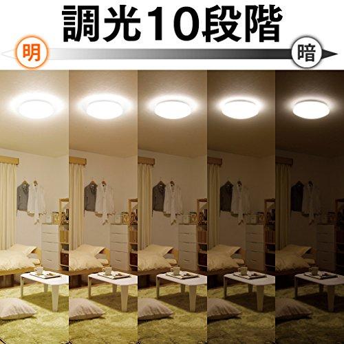 アイリスオーヤマ LED シーリングライト 調光 タイプ ~12畳 CL12D-5.0