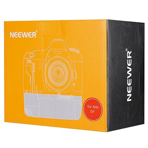 NEEWER プロ 垂直バッテリーグリップ EN-EL14Aバッテリー 対応 Nikon DFデジタル一眼レフ 対応 BG-2Pグリップと交換可能【並行輸入品】