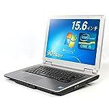 【店長おまかせ中古PC】 ノートパソコン 15インチ 高速 Intel Core i5 Windows7 モバイルノート ビジネス 法人 安心の保証付き