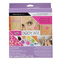 Tulip Body Art Glitter Tattoo Kit-Neon (並行輸入品)