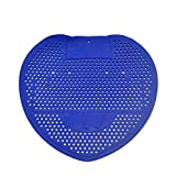 YWAWJ Men's Urinal Urinal Scented Sheet Filter Anti-clogging Toilet Deodorant Pad Cleaning To Taste Sterilization Filter for Bathroom Hotel Restaurant Aromatic Tablets (25 Pieces) (Color : Blue)
