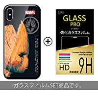 【 iPhone7 ケース + 液晶保護ガラスフィルム 】 【 Type7 】 iPhone 7/アイフォン/アイフォン7/アイフォーン/アイホン/アベンジャーズ インフィニティウォー マーベル MARVEL スマートフォンケース スマホカバー スマホケース