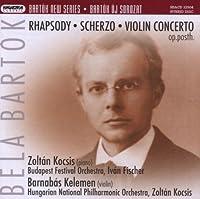 New Series: Rhapsody Scherzo Violin Concerto Op.Po