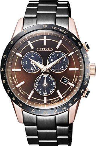 [シチズン]CITIZEN 腕時計 CITIZEN COLLECTION シチズンコレクション LIGHT in BLACK エコ・ドライブ BL5496-53E メンズ