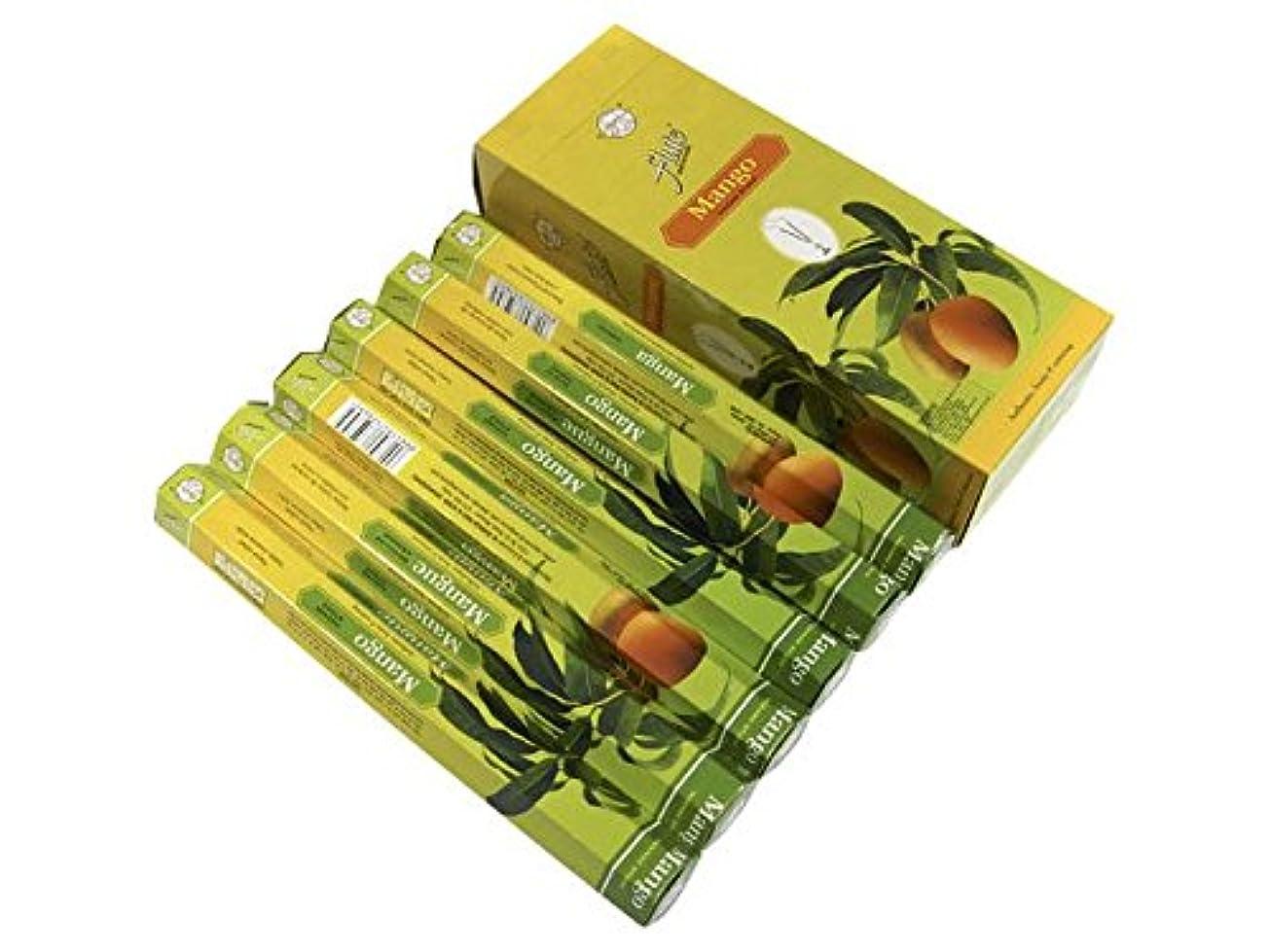 タール興奮する管理FLUTE(フルート) マンゴー香 スティック MANGO 6箱セット